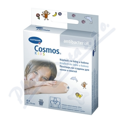 Zobrazit detail - Rychloobvaz COSMOS Dětská antibak. 4ks (lokty+kol. )