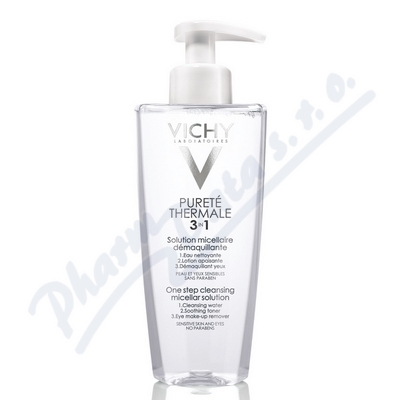 VICHY Puret� Thermale Micel�rn� voda 3v1 R15 400ml