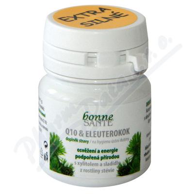 Bonne Santé Q 10 + Eleuterokok pastilky 8g