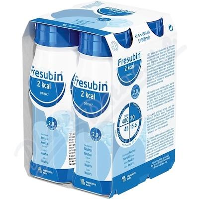 Zobrazit detail - Fresubin 2kcal Drink Neutral por. sol.  4x200ml