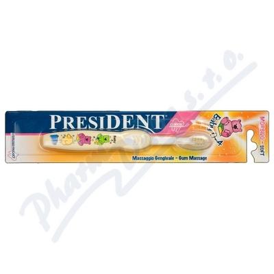 PresiDENT Baby 0-4 Soft D�tsk� zubn� kart��ek