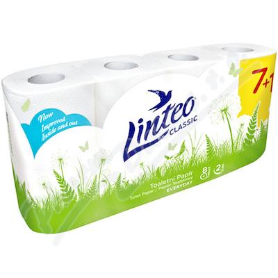 Zobrazit detail - Toaletní papír LINTEO Classic 2-vrst.  8ks