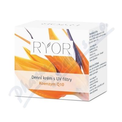 Zobrazit detail - RYOR Koenzym Q10 Denn� kr�m s UV filtry 50ml