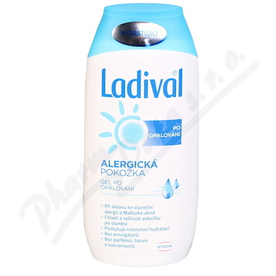 Zobrazit detail - LADIVAL Apres gel po opalování alergic. kůže 200ml