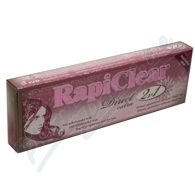 Zobrazit detail - Těhotenský test RapiClear Direct extra 2v1 2ks