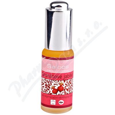 Zobrazit detail - Saloos Bio regener. obličej. olej Granát. jablko 20ml