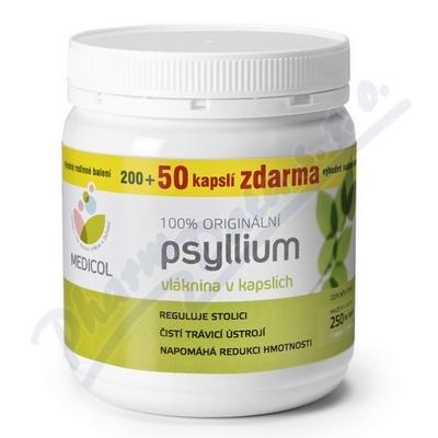 Psyllium kapsle 250 ks Topnatur