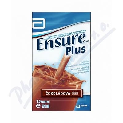 Zobrazit detail - Ensure Plus čokoládová příchuť por. sol. 1x220ml