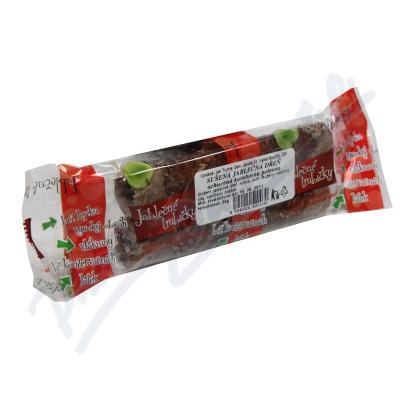 Zobrazit detail - Jablečné trubičky ochucené karobovou polevou 24g