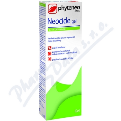 Zobrazit detail - Phyteneo Neocide gel 0. 1% Octenidine 50ml