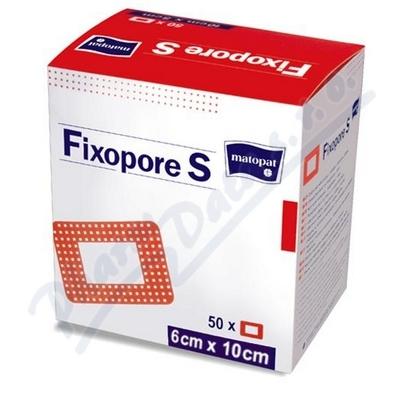 Zobrazit detail - Fixopore S 6 x 10 cm á 50 ks sterilní náplast
