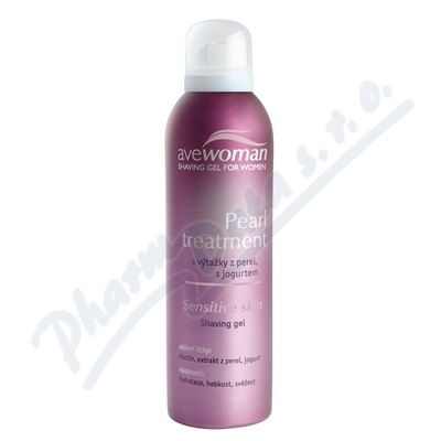 Zobrazit detail - AVEWOMAN Pearl treatment d�msk. gel na holen� 150ml