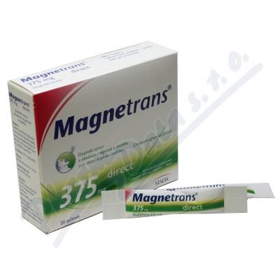 Zobrazit detail - MAGNETRANS 375mg 20 tyčinek granulátu