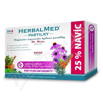 Zobrazit detail - HerbalMed past.  Dr. Weiss Echin+rakytník+vit. C 24+6