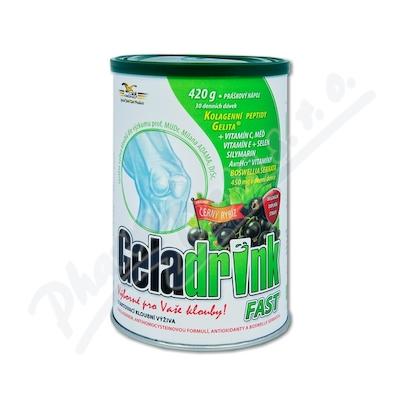 Zobrazit detail - Geladrink Fast nápoj černý rybíz 420g
