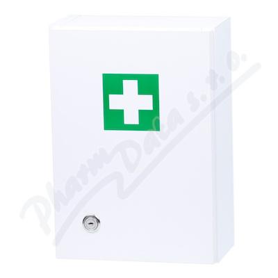 Zobrazit detail - Lékárnička - bílá dřevěná s náplní do 5 osob-ZM 05