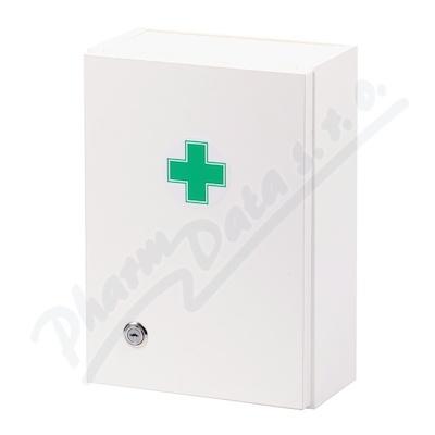 Zobrazit detail - Lékárnička - bílá dřevěná 330x230x120mm prázdná
