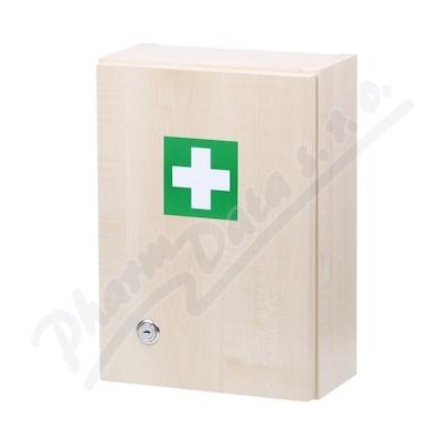 Zobrazit detail - Lékárnička - dřevěná 330x230x120mm prázdná
