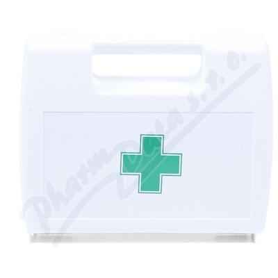 Zobrazit detail - Lékárnička - plast.  kufřík s křížem bílý prázdný