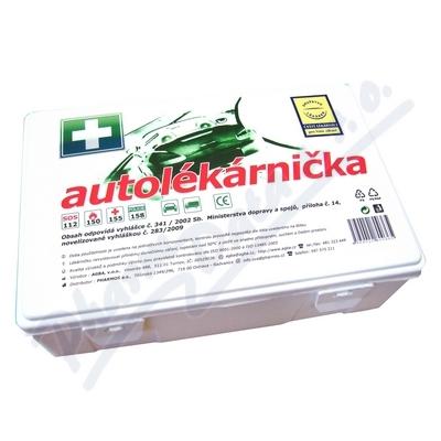 Zobrazit detail - Autolékárnička plastová 182-2011 DRUŽSTVO LÉKÁREN