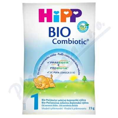 Zobrazit detail - HiPP MLÉKO HiPP 1 BIO Combiotik vzorek 22g