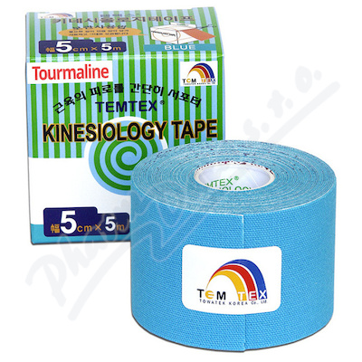 Zobrazit detail - Tejp.  TEMTEX kinesio tape Tourmaline modrá 5cmx5m