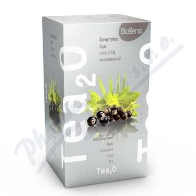 Čaj Tea2O Černý rybíz + Acai n.s. 20x2.5g Biogena