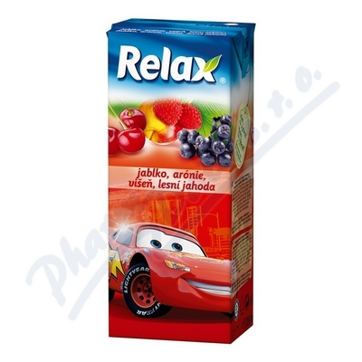 Zobrazit detail - Relax Jablko-arónie-višeň-lesní jahoda 0. 2 litru