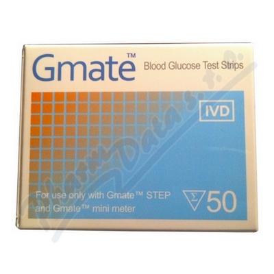 Zobrazit detail - Testovací proužky GMATE 50 ks