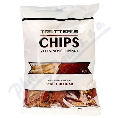 Zobrazit detail - Tretters zeleninové Chipsy cheddar 90g bezlepkové