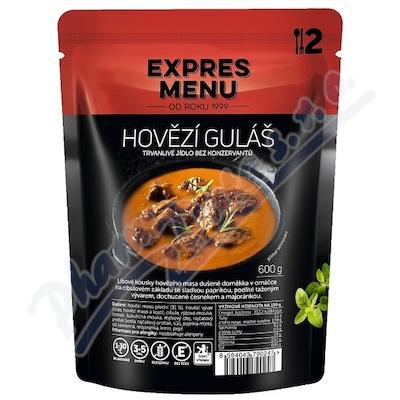 Zobrazit detail - EXPRES MENU Hovězí guláš 2 porce