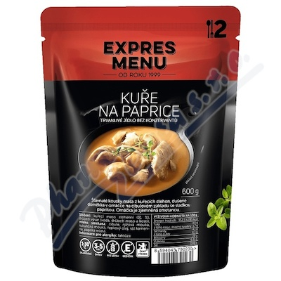 Zobrazit detail - EXPRES MENU Kuře na paprice 2 porce