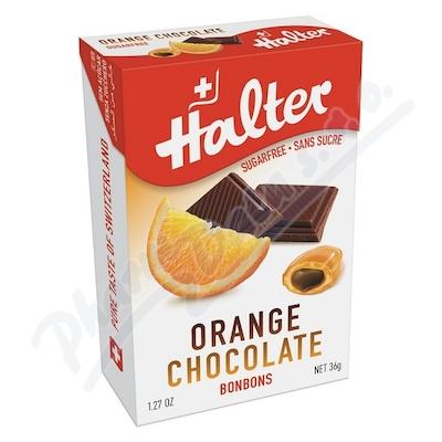 Zobrazit detail - HALTER bonbóny Pomeranč s čokoládou 36g H203354