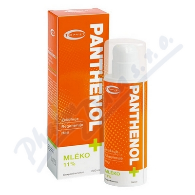 TOPVET Panthenol+ Mléko 11% 200ml