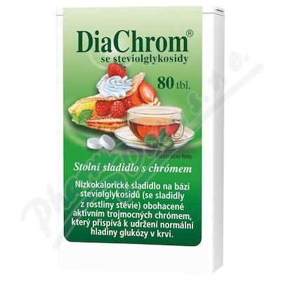 Zobrazit detail - DiaChrom se steviolglykosidy tbl. 80