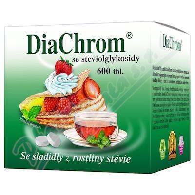 Zobrazit detail - DiaChrom se steviolglykosidy tbl. 600