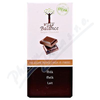 Zobrazit detail - Balance Mléčná čokoláda se stévií bez cukru 85g