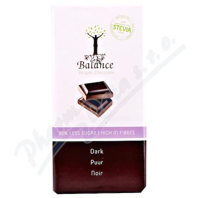 Zobrazit detail - Balance Hořká čokoláda se stévií bez cukru 85g