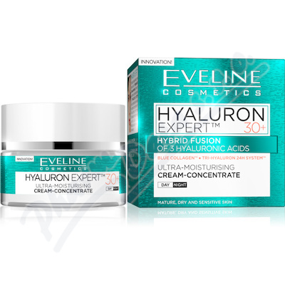 EVELINE bioHyaluron 4D day+night cream 30+ - 50ml