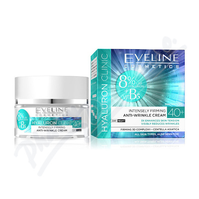 Zobrazit detail - EVELINE BIO Hyaluron 4D day+night cream 40+ - 50ml