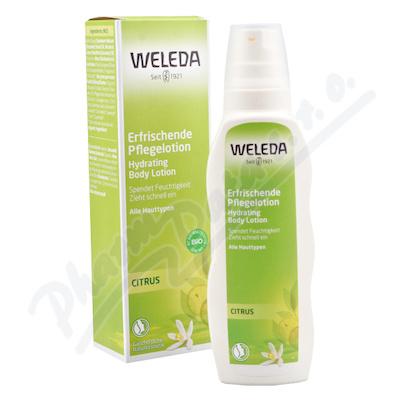 Zobrazit detail - WELEDA Citrusové hydratační tělové mléko 200ml