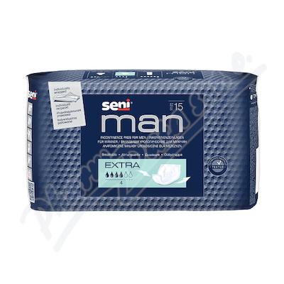 Zobrazit detail - Seni Man Extra 15 ks inkont.  pomůcky