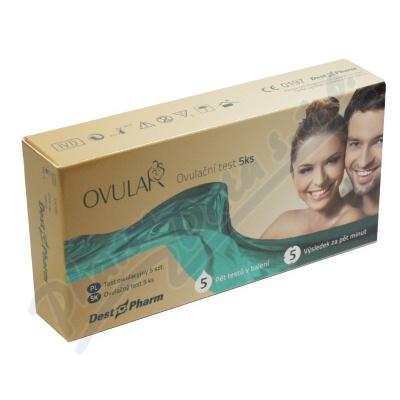 Zobrazit detail - Ovulační test OVULAR 5ks