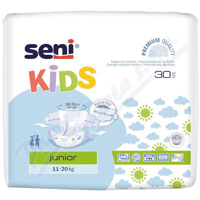 Zobrazit detail - Seni Kids Junior 30ks plenkové kalhotky 11-25kg