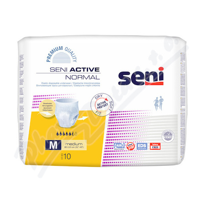 Zobrazit detail - Seni Active Normal Medium 10ks ink.  plenk. kalhotky