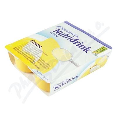 Nutridrink Creme s vanilkovou příchutí 4x125g