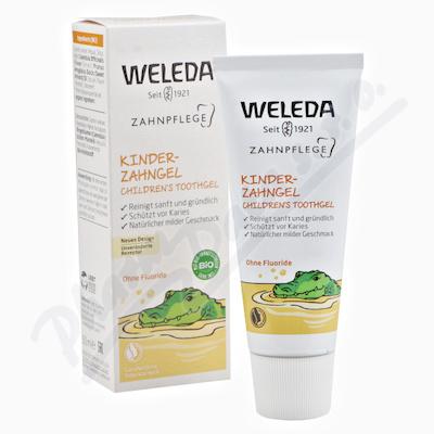 Zobrazit detail - WELEDA Dětský zubní gel 50ml