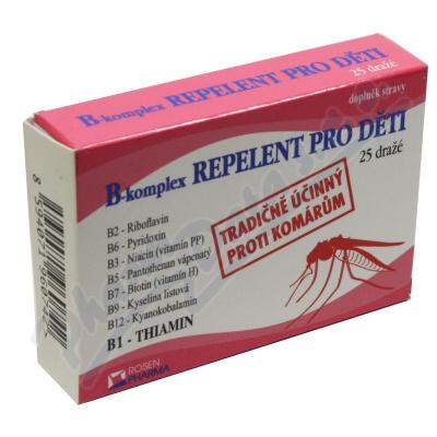 Rosen B-komplex REPELENT pro děti drg.25