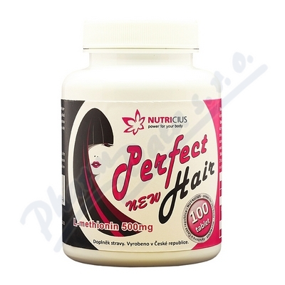 Zobrazit detail - Perfect HAIR new - methionin 500mg tbl. 100