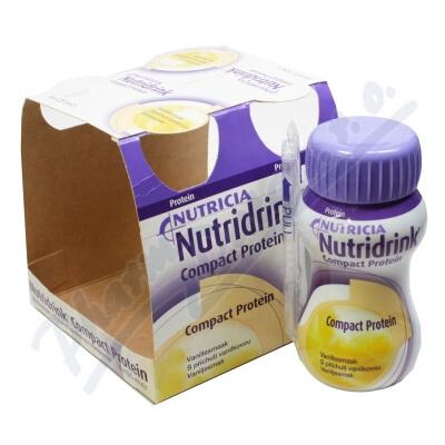 Zobrazit detail - Nutridrink Compact Protein př. van.  por. sol. 4x125ml
